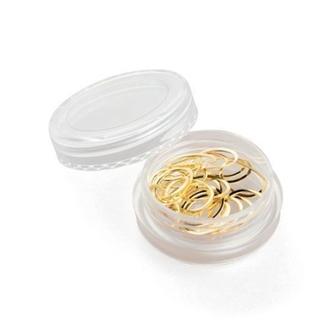 Monami Professional, Дизайн для ногтей, овал, золото, 1 г