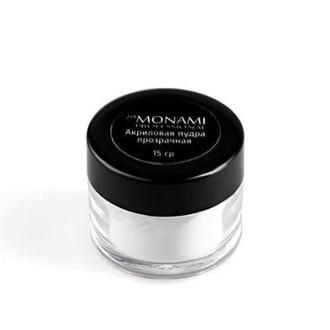 Monami Professional, Акриловая пудра, прозрачная, 15 г