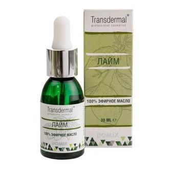 Domix, Эфирное масло Transdermal, лайм, 30 мл