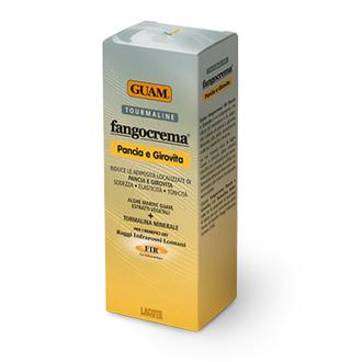 GUAM, Крем с микрокристаллами турмалина для живота и талии, 150 мл