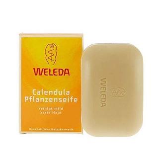 Weleda, Мыло с календулой и лекарственными травами, 100 г