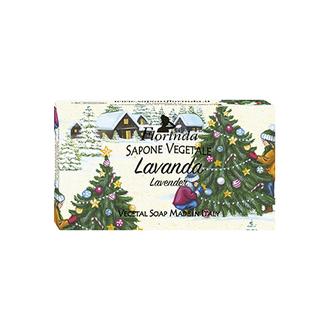 Florinda, Мыло «Счастливого Рождества», Лаванда, 100 г