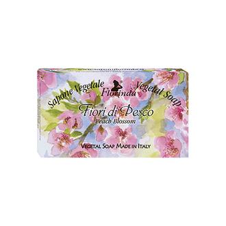 Florinda, Мыло «Цветочные Ноты», Персиковый цвет, 100 г