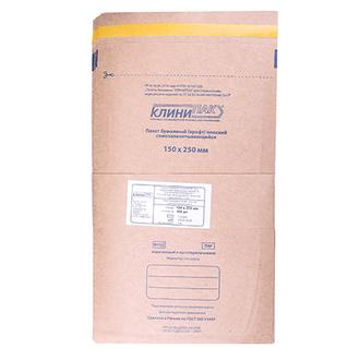 КлиниПак, Крафт-пакеты самоклеящиеся, 150х250 мм, 10 шт.