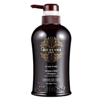 Richenna, Шампунь для волос Gold, 500 мл