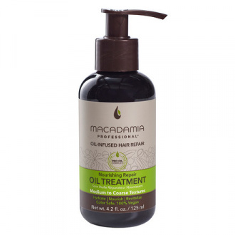Macadamia, Уход-масло для волос Nourishing Repair, 125 мл