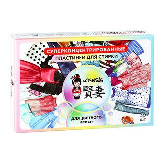 KENSAI, Пластинки для стирки цветного белья, 30 шт.