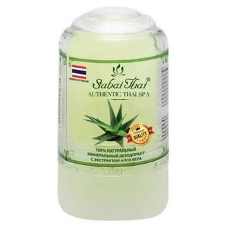 Sabai Thai, Минеральный дезодорант с алоэ вера, 70 г