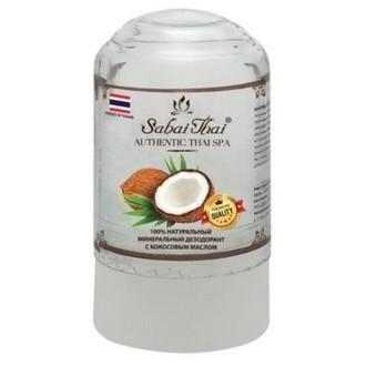 Sabai Thai, Минеральный дезодорант с кокосовым маслом, 70 г