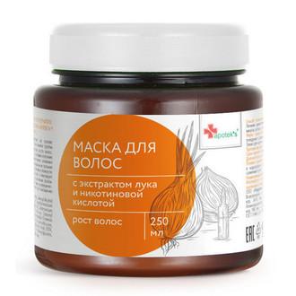 Mirrolla, Маска Apotek's, с экстрактом репчатого лука, 250 мл
