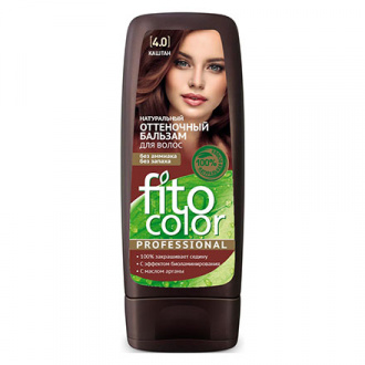 Fito, Бальзам Color Professional 4.0, каштан, 140 мл