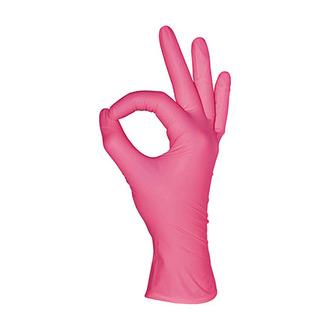 Mediok, Перчатки нитриловые, ягодные, размер XS, 100 шт.