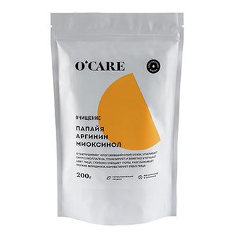 O'CARE, Альгинатная маска с папайей, аргинином и миоксинолом, 200 г
