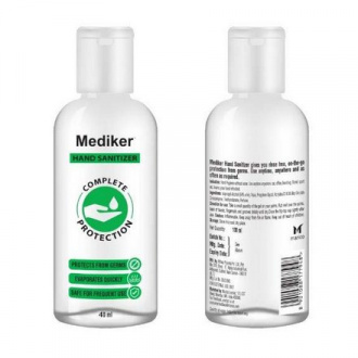 Mediker, Антисептический гель для рук, 40 мл