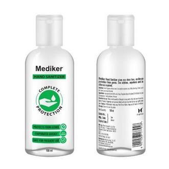 Mediker, Антисептический гель для рук, 100 мл