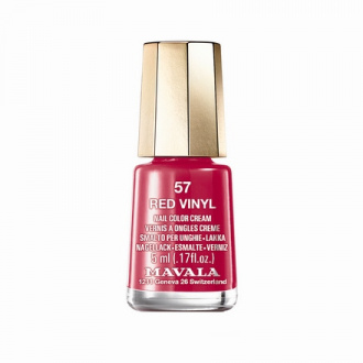 Mavala, Лак для ногтей №910.57, Red Vinyl