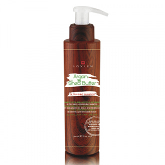Lovien Essential, Шампунь для окрашенных волос «Ультра-блеск», 300 мл