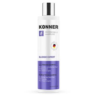 Konner, Тонирующий шампунь Blonde Expert, 250 мл