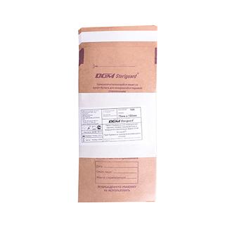 DGM Steriguard, Крафт-пакет для стерилизации, 75x150 мм, 100 шт.