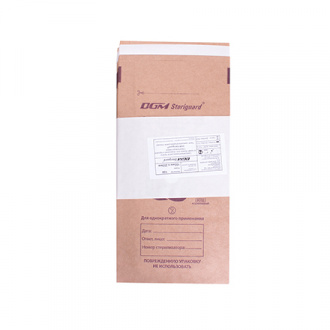 DGM Steriguard, Крафт-пакет для стерилизации, 100x200 мм, 100 шт.