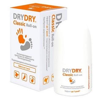DRY DRY, Антиперспирант Classic Roll-on, 35 мл