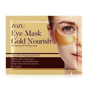 ZOZU, Патчи для глаз Gold Nourish, 1 пара