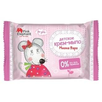 Pink Elephant, Детское крем-мыло «Мышка Варя», 90 г