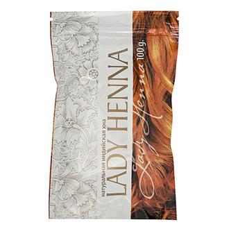 Lady Henna, Хна для волос, натуральная, 100 г