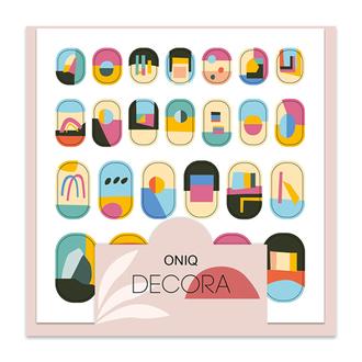 ONIQ, Термопленка для дизайна ногтей Skin, Decora №2