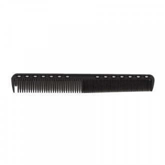 Zinger, Расческа карбоновая Professional Combs, черная, 179 мм
