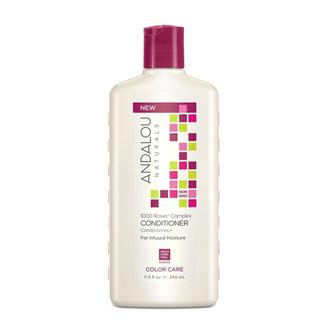 Andalou Naturals, Кондиционер для сухих и окрашенных волос «1000 роз», 340 мл