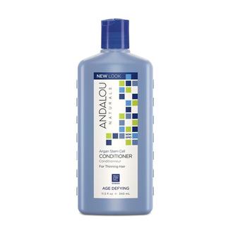 Andalou Naturals, Кондиционер для ослабленных волос «Стволовые клетки арганы», 340 мл