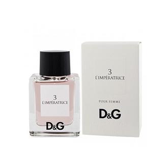 Dolce&Gabbana, Туалетная вода для женщин D&G 3 L'imperatrice 50 мл