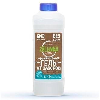 ZELENKA, Чистящее средство для устранения засоров, 1 л