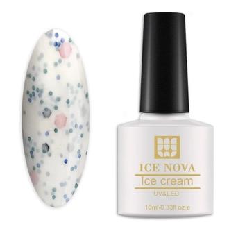 Гель-лак Ice Nova «Мороженое» №021