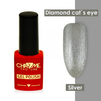Гель-лак CHARME Pro Line Diamond Cat's Eye, Silver
