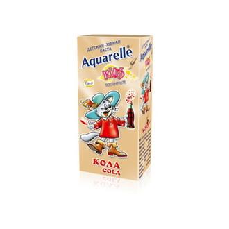 Aquarelle, Детская зубная паста «Кола», 50 мл