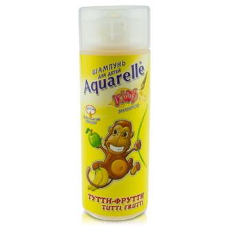 Aquarelle, Шампунь для детей «Тутти-фрутти», 200 мл