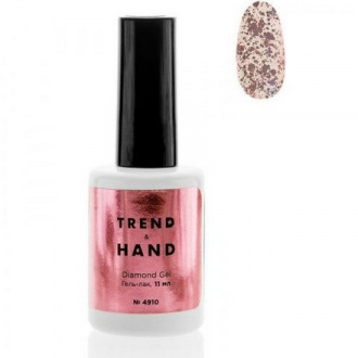 Гель-лак Trend&Hand Diamond №4910, Rose Gold