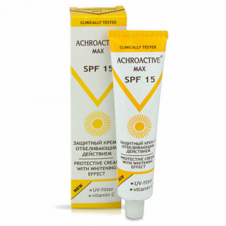 Achroactive Max, Крем для лица «Защитный» SPF 15, 45 мл