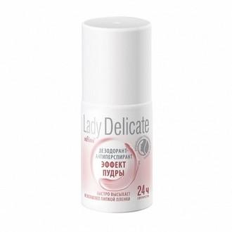 Белита, Дезодорант-антиперспирант Roll-on Lady Delicate «Эффект пудры», 50 мл