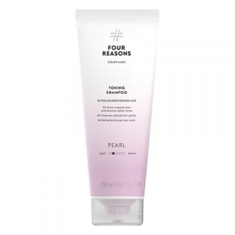 Four Reasons, Шампунь Toning Shampoo Pearl, 250 мл