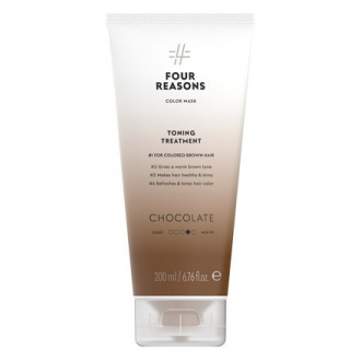 Four Reasons, Маска для волос Toning Treatment Chocolate, 200 мл
