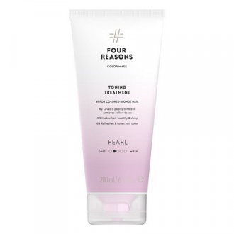 Four Reasons, Маска для волос Toning Treatment Pearl, 200 мл
