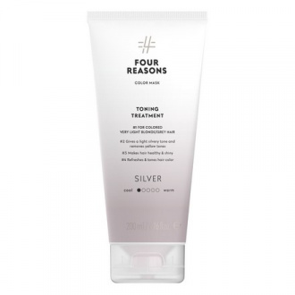 Four Reasons, Маска для волос Toning Treatment Silver, 200 мл