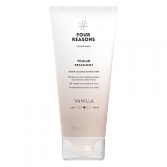 Four Reasons, Маска для волос Toning Treatment Vanilla, 200 мл