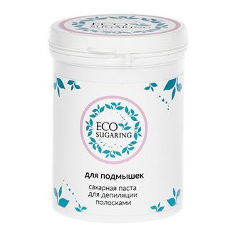 ECO Sugaring, Паста для депиляции подмышек полосками, 330 г