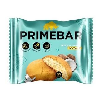 Primebar, Протеиновое печенье «Кокос», 35 г