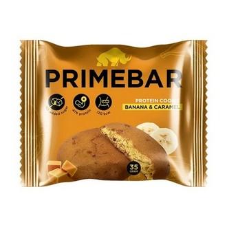 Primebar, Протеиновое печенье «Банан и карамель», 35 г