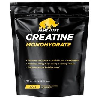 Prime Kraft, Креатин «Моногидрат», без вкуса, 500 г